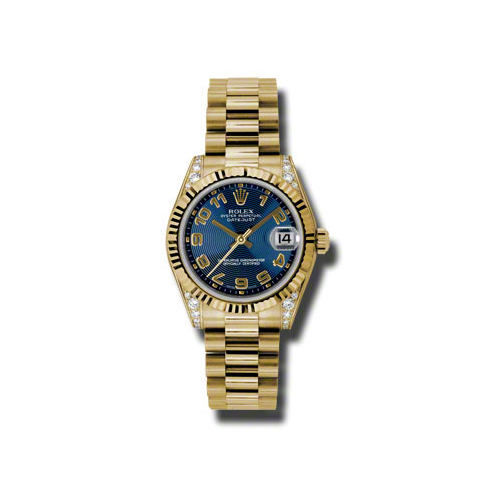 Oyster Perpetual Datejust 178238 blcap