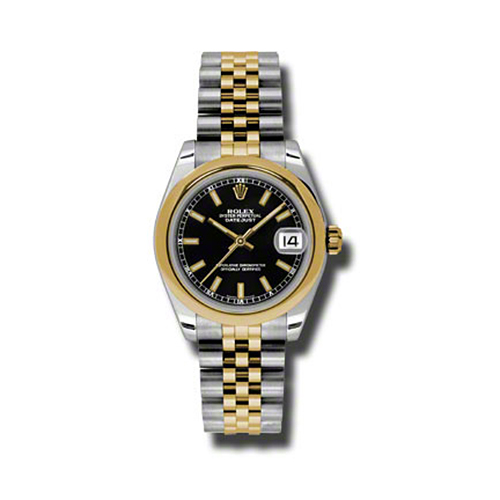 Oyster Perpetual Datejust 31mm Domed Bezel 178243 bkij