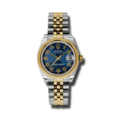 Oyster Perpetual Datejust 31mm Domed Bezel 178243 blcaj