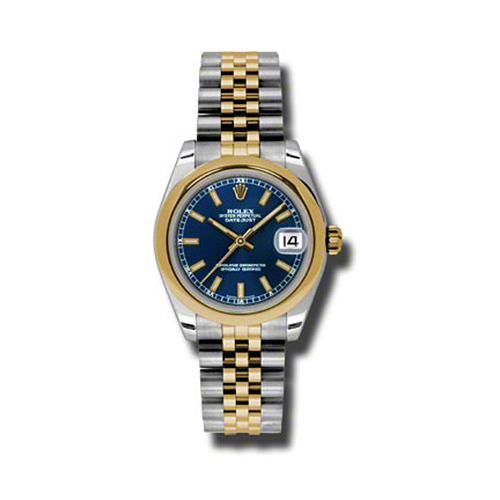Oyster Perpetual Datejust 31mm Domed Bezel 178243 blij