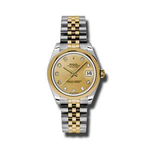 Oyster Perpetual Datejust 31mm Domed Bezel 178243 chdj