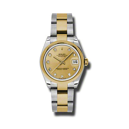 Oyster Perpetual Datejust 31mm Domed Bezel 178243 chdo
