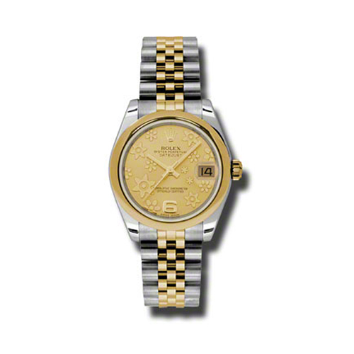 Oyster Perpetual Datejust 31mm Domed Bezel 178243 chfj