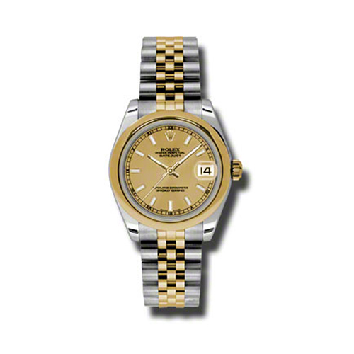 Oyster Perpetual Datejust 31mm Domed Bezel 178243 chij