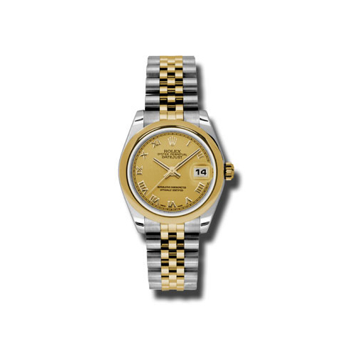 Oyster Perpetual Datejust 31mm Domed Bezel 178243 chrj