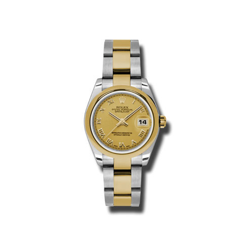Oyster Perpetual Datejust 31mm Domed Bezel 178243 chro