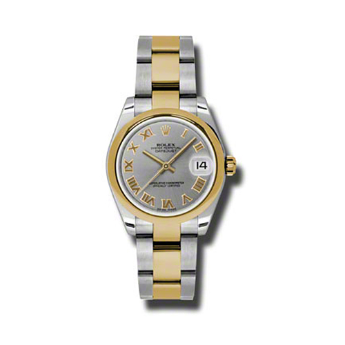 Oyster Perpetual Datejust 31mm Domed Bezel 178243 gro