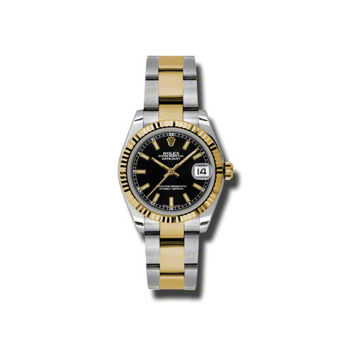 Oyster Perpetual Datejust 178273 bkio