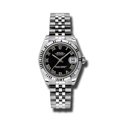 Oyster Perpetual Datejust 31mm Fluted Bezel 178274 bkrj