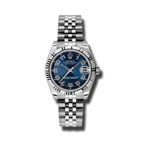 Oyster Perpetual Datejust 31mm Fluted Bezel 178274 blcaj