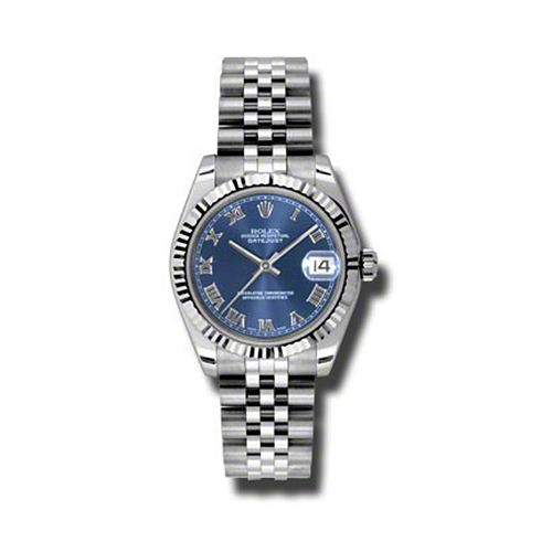 Oyster Perpetual Datejust 31mm Fluted Bezel 178274 blrj