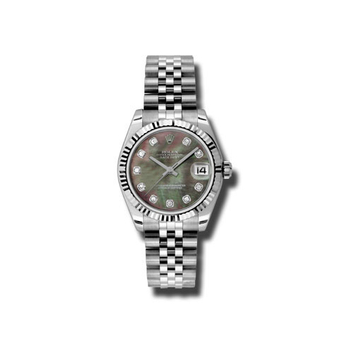 Oyster Perpetual Datejust 31mm Fluted Bezel 178274 dkmdj