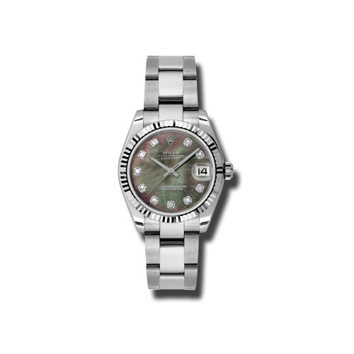 Oyster Perpetual Datejust 31mm Fluted Bezel 178274 dkmdo
