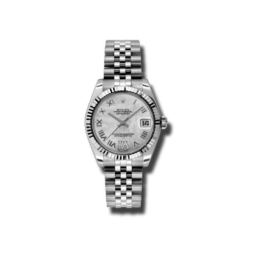 Oyster Perpetual Datejust 31mm Fluted Bezel 178274 mdrj