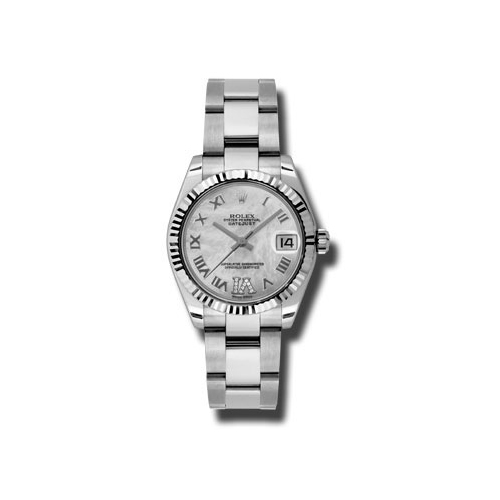 Oyster Perpetual Datejust 31mm Fluted Bezel 178274 mdro