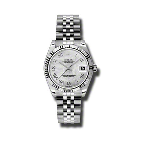 Oyster Perpetual Datejust 31mm Fluted Bezel 178274 mrj
