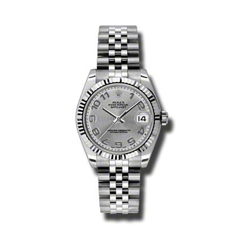 Oyster Perpetual Datejust 31mm Fluted Bezel 178274 scaj