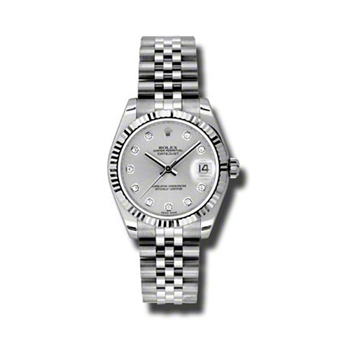 Oyster Perpetual Datejust 31mm Fluted Bezel 178274 sdj