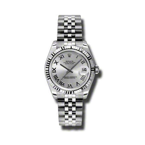 Oyster Perpetual Datejust 31mm Fluted Bezel 178274 srj