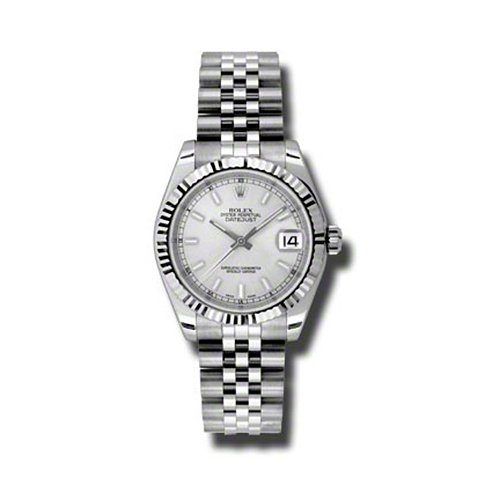 Oyster Perpetual Datejust 31mm Fluted Bezel 178274 ssj