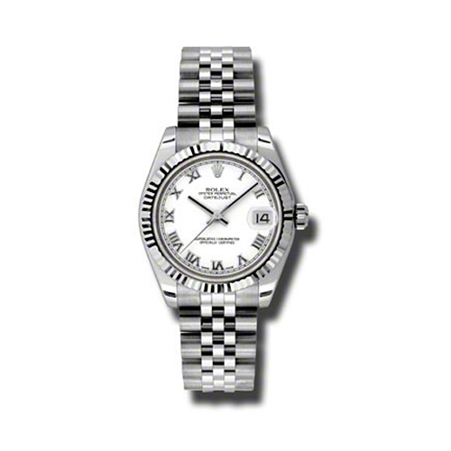 Oyster Perpetual Datejust 31mm Fluted Bezel 178274 wrj