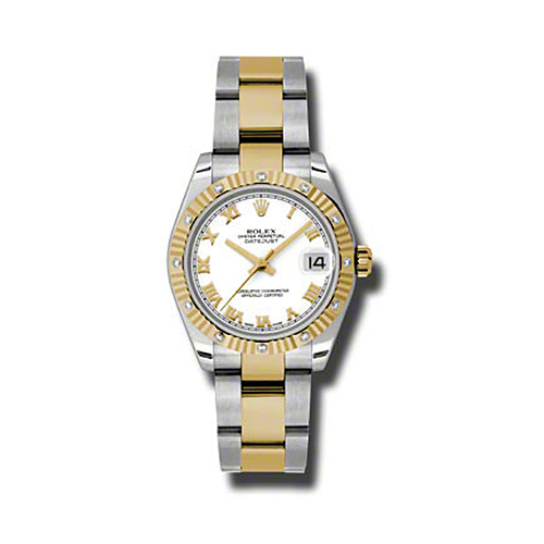 Oyster Perpetual Datejust 31mm Diamond Fluted Bezel 178313 wro