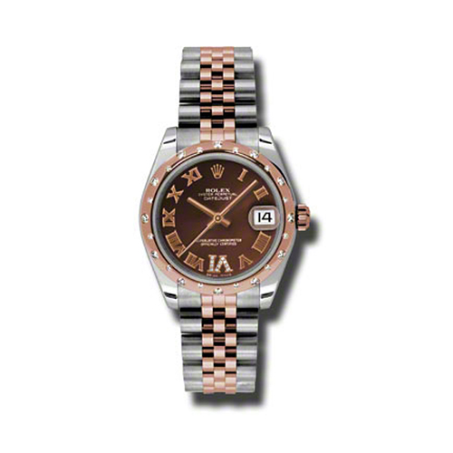 Oyster Perpetual Datejust 31mm Diamond Fluted Bezel 178341 chodrj