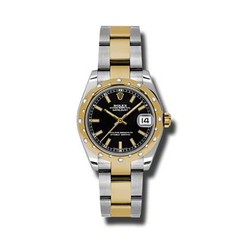 Oyster Perpetual Datejust 178343 bkio