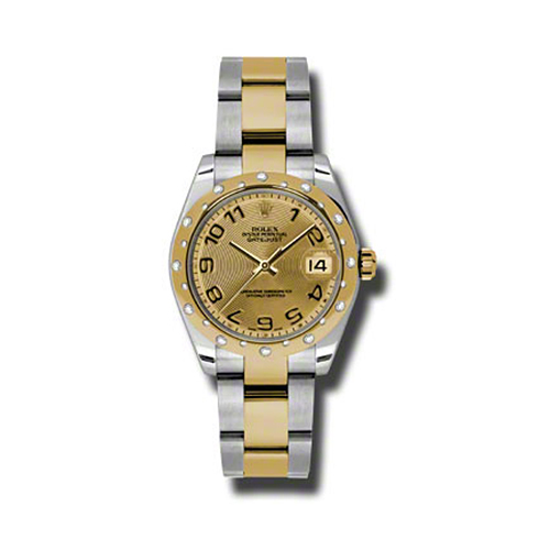 Oyster Perpetual Datejust 31mm Diamond Domed Bezel 178343 chcao