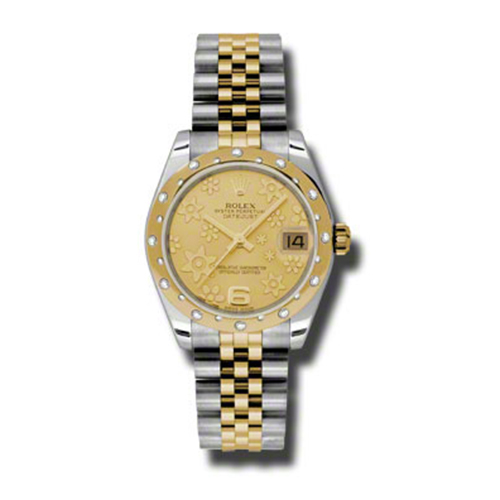 Oyster Perpetual Datejust 31mm Diamond Domed Bezel 178343 chfj