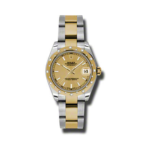 Oyster Perpetual Datejust 31mm Diamond Domed Bezel 178343 chio