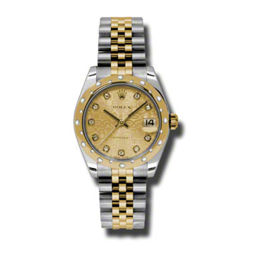 Oyster Perpetual Datejust 31mm Diamond Domed Bezel 178343 chjdj