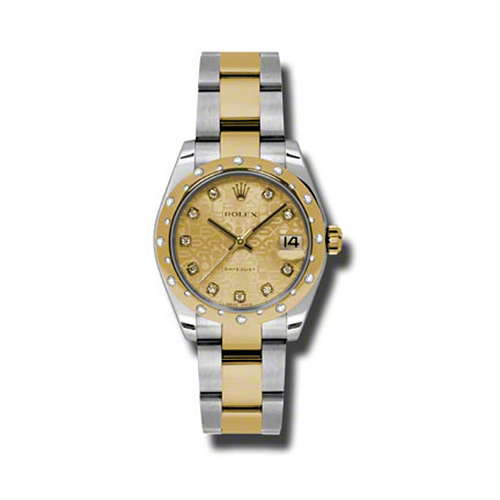 Oyster Perpetual Datejust 31mm Diamond Domed Bezel 178343 chjdo