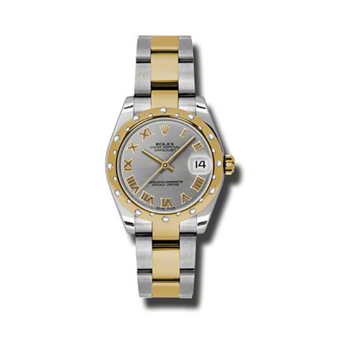 Oyster Perpetual Datejust 31mm Diamond Domed Bezel 178343 gro