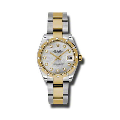 Oyster Perpetual Datejust 31mm Diamond Domed Bezel 178343 mdo
