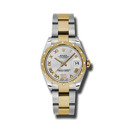 Oyster Perpetual Datejust 31mm Diamond Domed Bezel 178343 sdro
