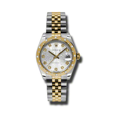 Oyster Perpetual Datejust 31mm Diamond Domed Bezel 178343 sjdj