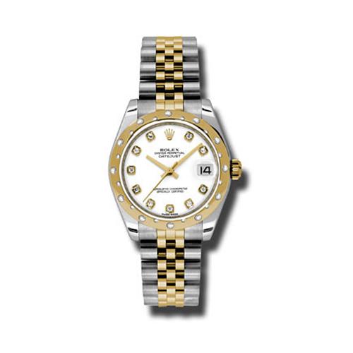 Oyster Perpetual Datejust 31mm Diamond Domed Bezel 178343 wdj