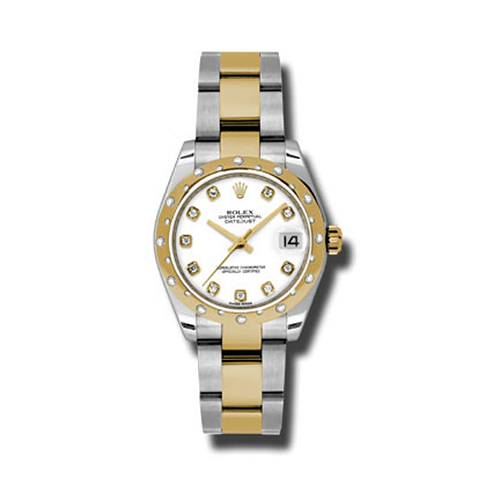 Oyster Perpetual Datejust 31mm Diamond Domed Bezel 178343 wdo