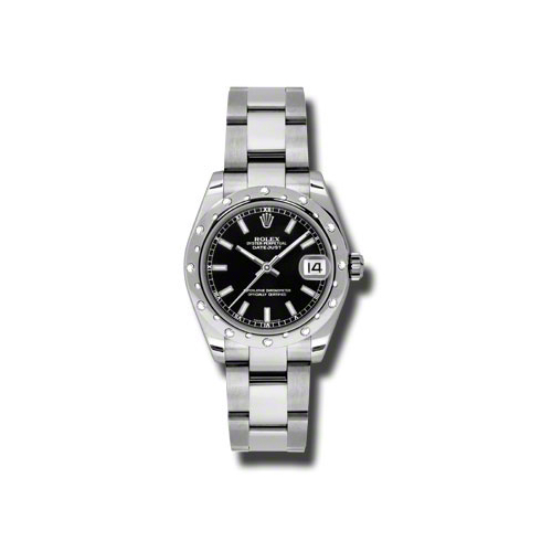 Oyster Perpetual Datejust 178344 bkio