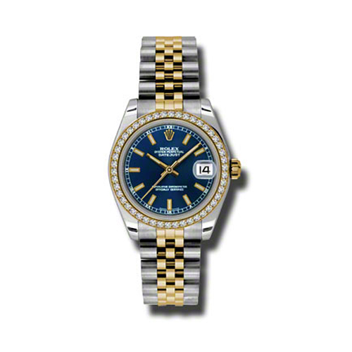 Oyster Perpetual Datejust 178383 blij