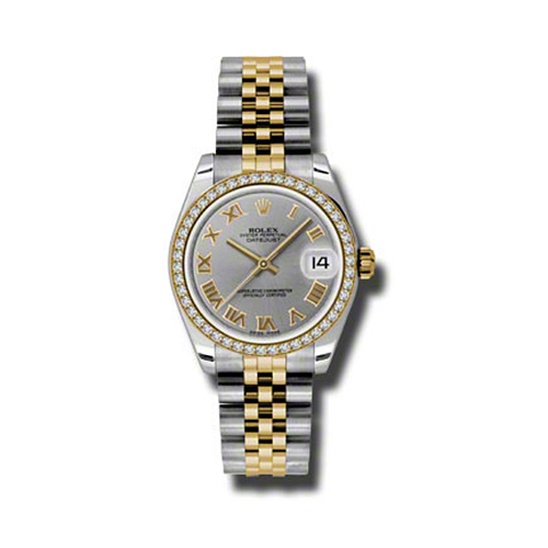 Oyster Perpetual Datejust 31mm Diamond Bezel 178383 grj
