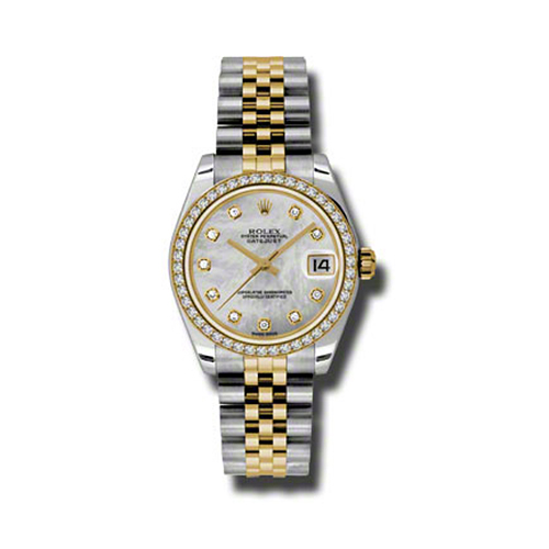 Oyster Perpetual Datejust 31mm Diamond Bezel 178383 mdj
