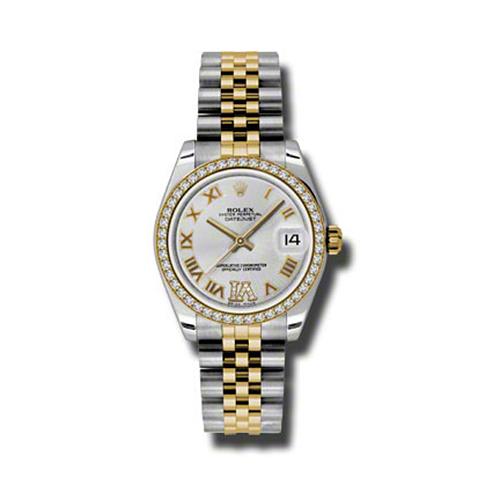Oyster Perpetual Datejust 31mm Diamond Bezel 178383 sdrj