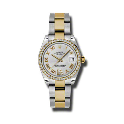 Oyster Perpetual Datejust 31mm Diamond Bezel 178383 sdro