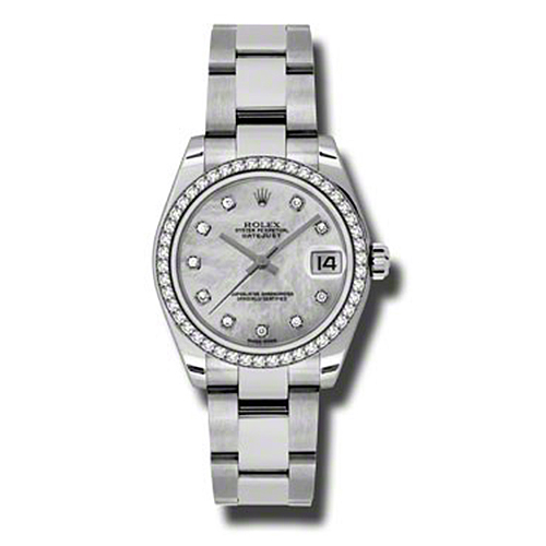 Oyster Perpetual Datejust 31mm Diamond Bezel 178384 mdo