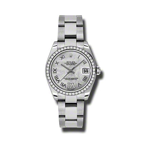 Oyster Perpetual Datejust 31mm Diamond Bezel 178384 mdro