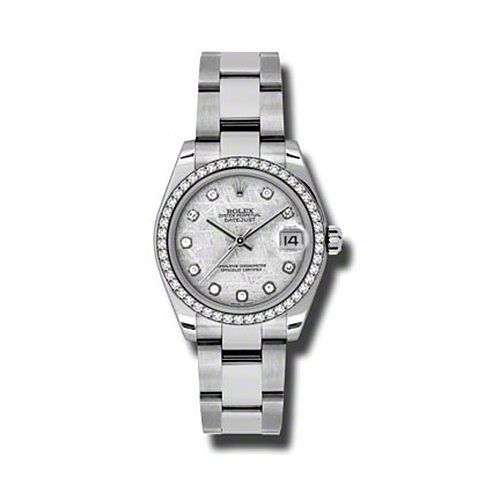 Oyster Perpetual Datejust 31mm Diamond Bezel 178384 mtdo