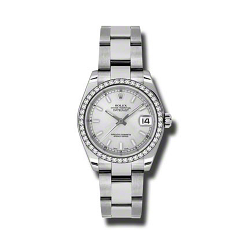 Oyster Perpetual Datejust 31mm Diamond Bezel 178384 sio