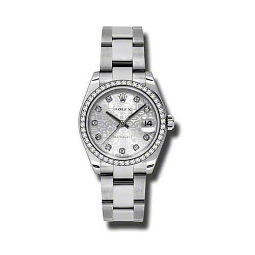 Oyster Perpetual Datejust 31mm Diamond Bezel 178384 sjdo